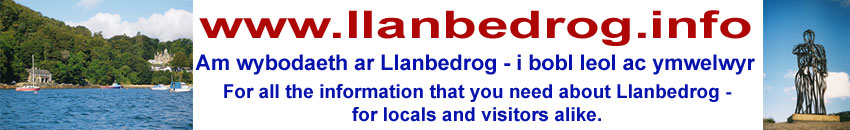 Llanbedrog Information Site Logo - Click here to get to the site