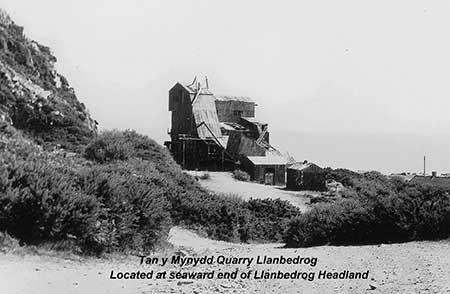 Llanbedrog Headland - Quarry